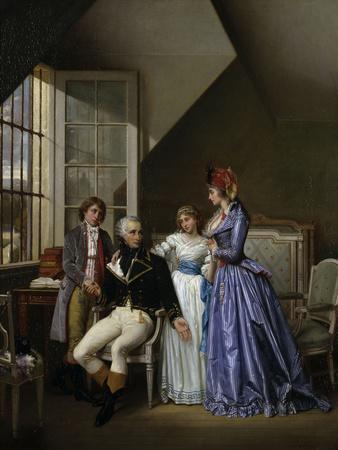 Josephine Visiting Her Husband Alexandre de Bauharnais