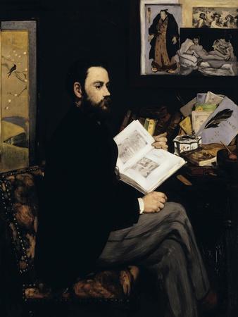 Emile Zola, c.1868