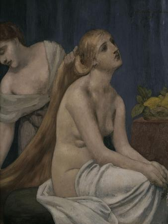 Lady at her Toilette, c.1883