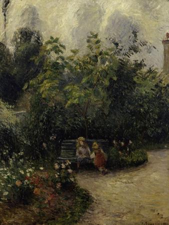 Les Mathurins' Garden, c.1877