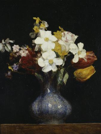 Daffodils and Tulips, c.1862