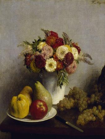 Flowers and Fruits, c.1865