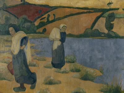 Washerwomen on the Laita, c.1892