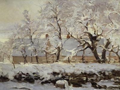 The Magpie, c.1869