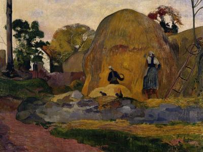 The Yellow Haystacks, c.1889