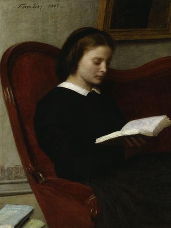 The Reader, c.1861
