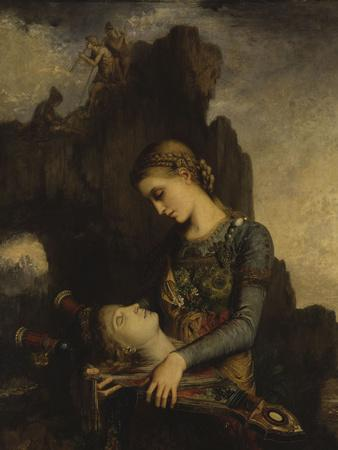 The Thracian Girl Carrying the Head of Orpheus, c.1865