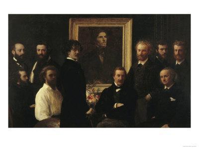 Hommage a Delacroix, c.1864