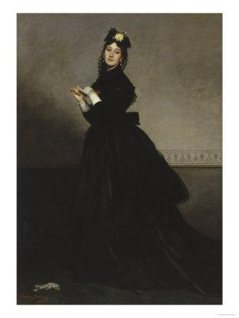 Lady with Glove, c.1869