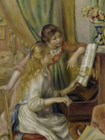 Two Girls at the Piano, c.1892