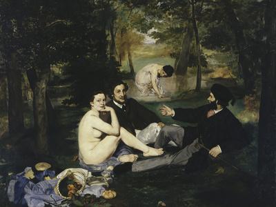 Le Dejeuner Sur l'Herbe, c.1863