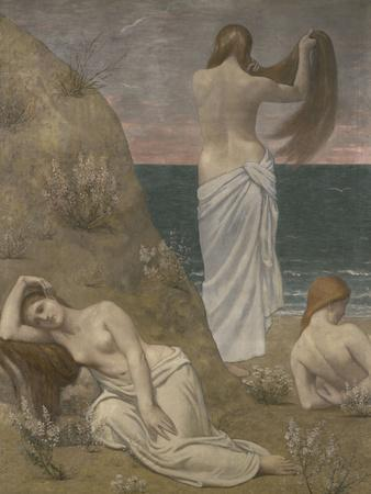 Young Women at the Ocean, c.1879