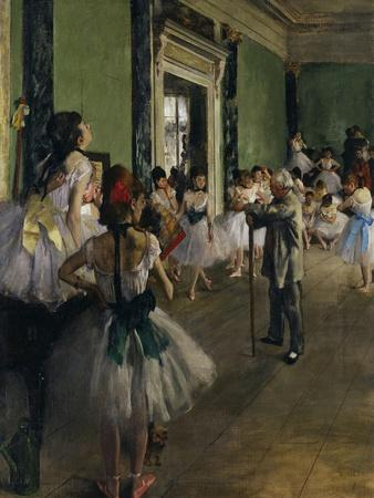 The Dance Class, c.1875