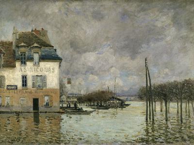 Flood of Port-Marly, c.1876