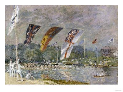 Regatta a Molesey, c.1874