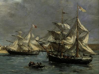 The Port of Camaret, c.1872