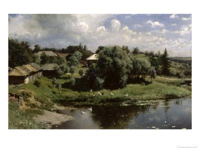 Farmstead in Russia