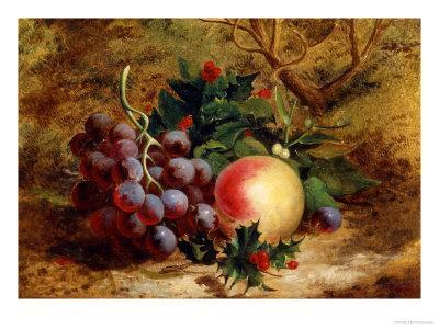 Christmas Fruit and Flowers