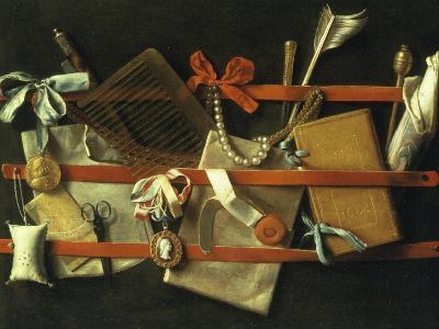 Still Life of Noteboard, c.1664