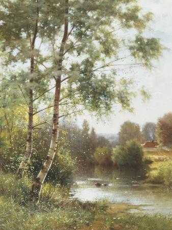 Landscape near Sonning on Thames