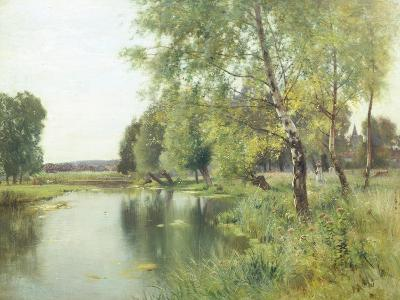 River Landscape in Summer