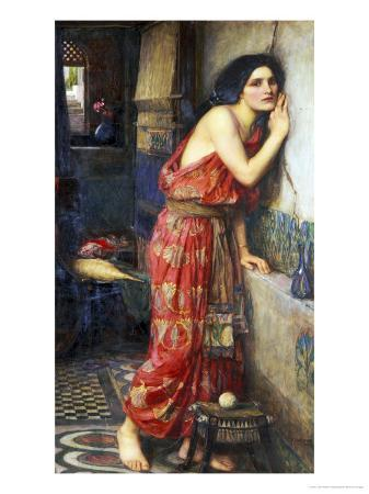 Thisbe or The Listener, c.1909