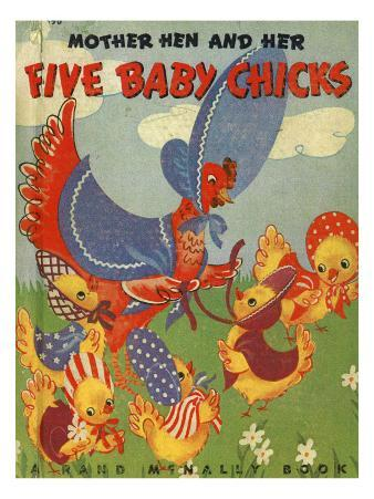 Five Baby Chicks