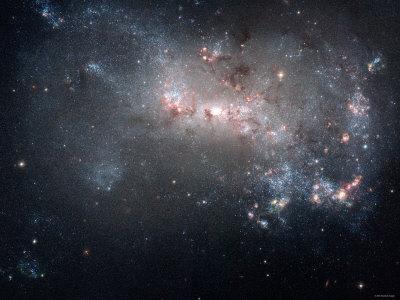Magellanic Dwarf Irregular Galaxy NGC 4449 in the Constellation Canes Venatici