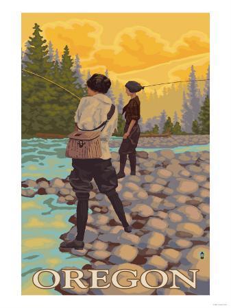 Oregon Women Fly Fishing