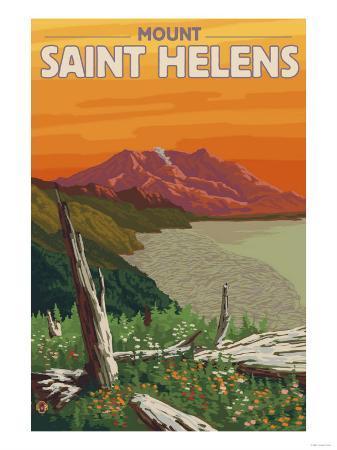 Scenic Mount St. Helens, Washington