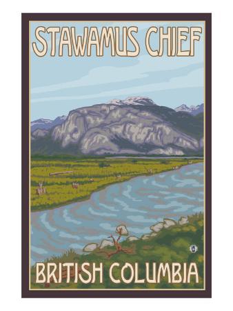 Stawamus Chief, Squamish, British Columbia, Canada