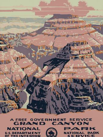 Grand Canyon National Park, c.1938