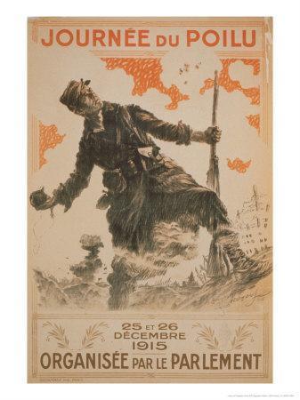 Journee du Poilu, c.1915
