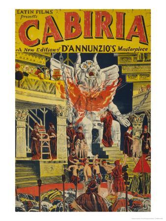 Latin Films presents Cabiria, c.1914
