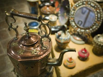 Moroccan Teapot Souvenirs, Maadid, Ziz Valley, Morocco