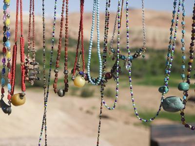Moroccan Souvenir Jewelry, Ait Benhaddou, South of the High Atlas, Morocco