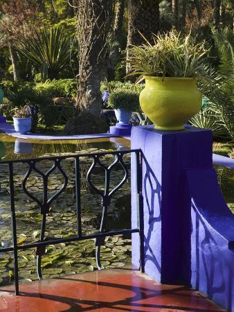 Villa Gardens, Jardin Majorelle and Museum of Islamic Art, Marrakech, Morocco
