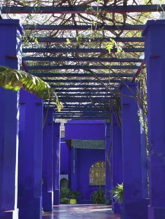 Villa Exterior, Jardin Majorelle and Museum of Islamic Art, Marrakech, Morocco