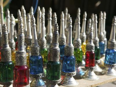 Perfume Bottles, the Souqs of Marrakech, Marrakech, Morocco