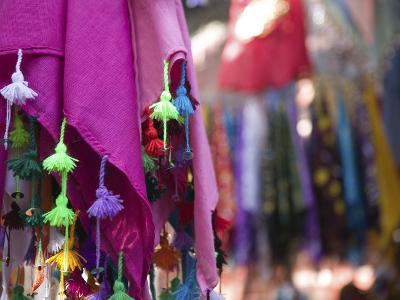 Kerchief, the Souqs of Marrakech, Marrakech, Morocco