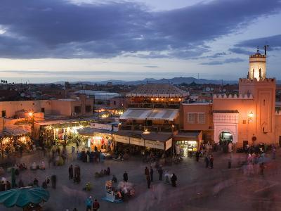 Djemma El-Fna Square, Marrakech, Morocco