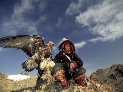 Kook Kook is from Altai Sum, Golden Eagle Festival, Mongolia