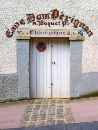 Entrance to Cellar in Cave Dom Perignon, Hautvillers, Vallee De La Marne, Champagne, France