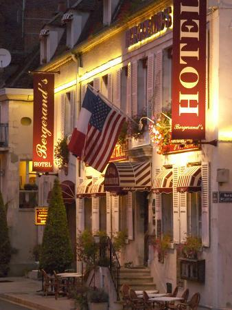 Hotel Bergerand's in Village of Chablis, Bourgogne, France