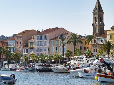 View of Harbour with Fishing and Leisure Boats, Sanary, Var, Cote d'Azur, France
