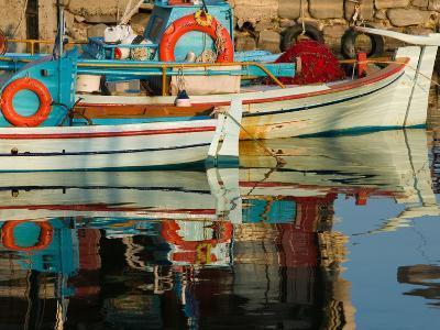 Fishing Port, Lesvos, Mithymna, Northeastern Aegean Islands, Greece
