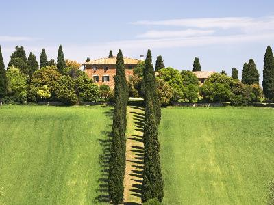 Tuscan Villa near the Town Pienza, Italy