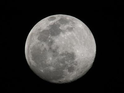 Full Moon in Black and White