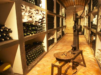 Bottle Aging Cellar, Bodega Pisano Winery, Progreso, Uruguay