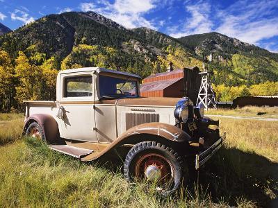 Old International Pickup Near Lake City, Colorado, USA